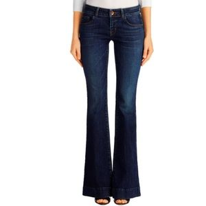 J Brand Love Story Low Rise Flare Jeans, size 28